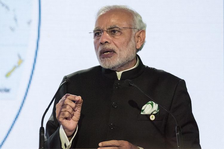 Modi in Indien lässt China hinter sich