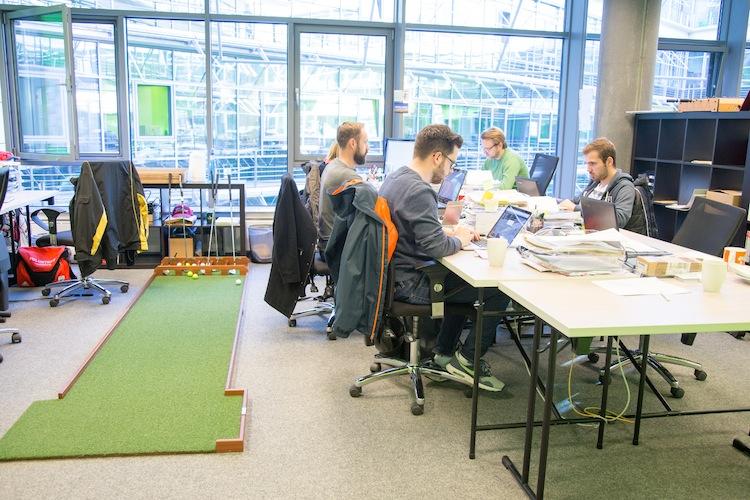 Startplatz Arbeitsplatz in Zurich sucht räumliche Nähe zu Insurtechs
