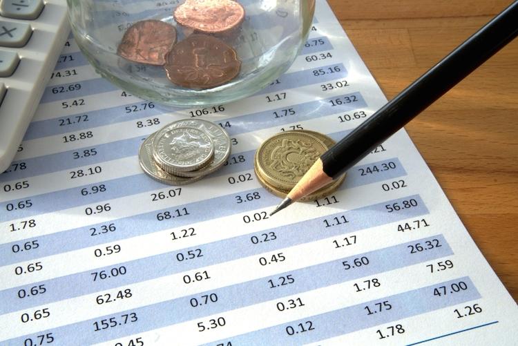 Gewinn-umsatz-rechnen-bilanz-abschluss-bleistift-geld-shutterstock 537333409 in Aktionäre der Pfandbriefbank glücklich über Einigung mit Hypo Alpe Adria