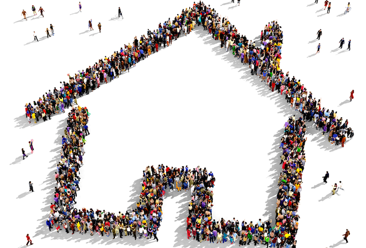 Haus-crowd-investing-funding-shutterstock 277204217 in Crowdinvesting mit institutionellen Investoren