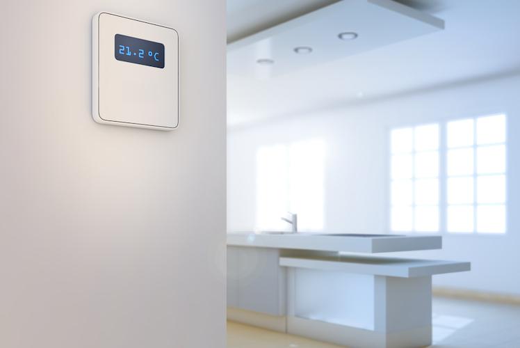 Haus-zukunft-modern-wei -smart-home-kueche-shutterstock 326720828 in Die drei wichtigsten Trends: So wird das Wohnen der Zukunft