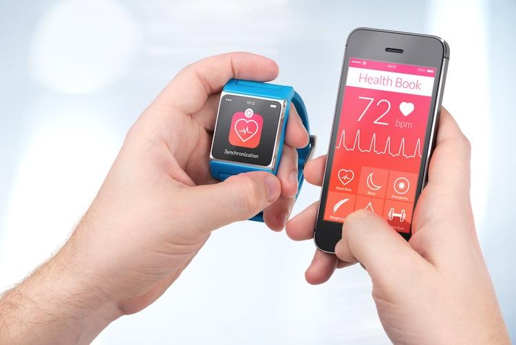 Gesundheitsdaten App Wearables