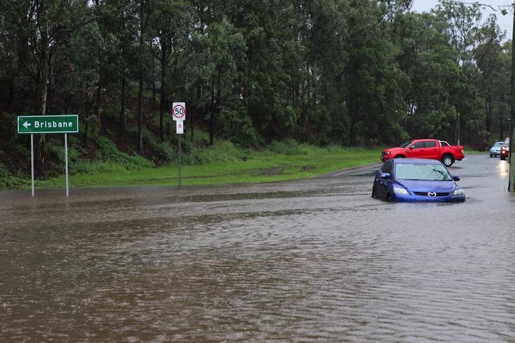 Wirbelsturm Debbie war Ende März mit großer Wucht über den australischen Bundesstaat Queensland gezogen.