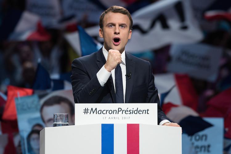 Emmanuel Macron: Die Politik des neuen französischen Präsidenten sollte positiv auf die Aktienmärkte wirken.
