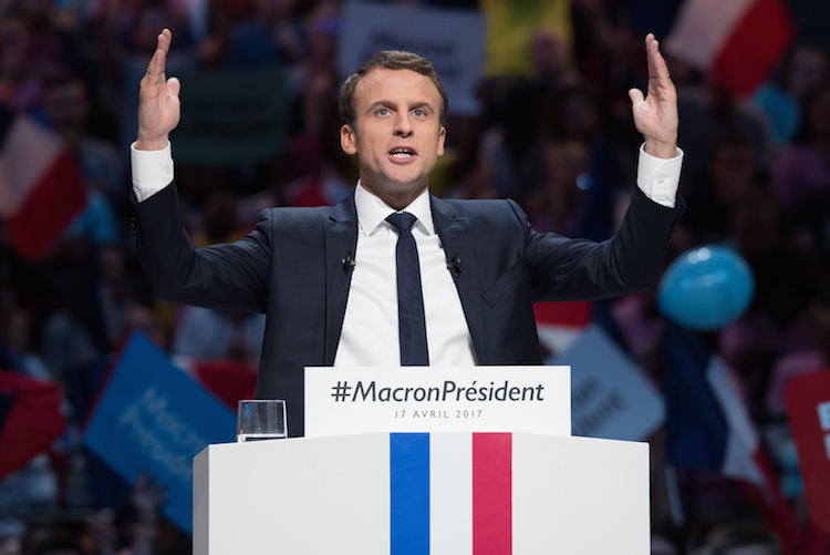 Macron in DNCA: Wahrscheinliche Wahl Macrons dämmt systemisches Risiko ein