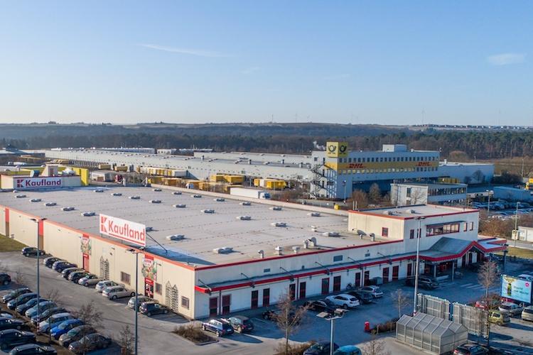 Langfristig vermietet: Kaufland in Kitzingen