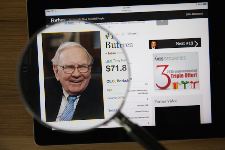 Buffett in Warren Buffett: Zehntausende pilgerten zum Orakel von Omaha
