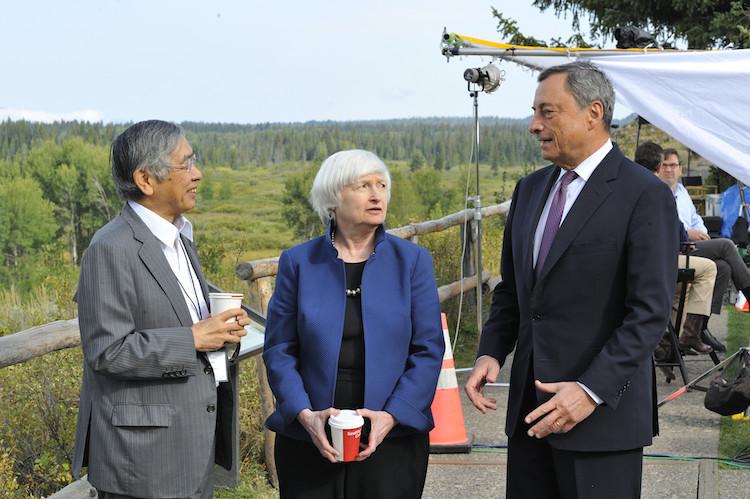 Jackson-Hole in Märkte werden mit Änderung der Geldpolitik nicht Schritt halten