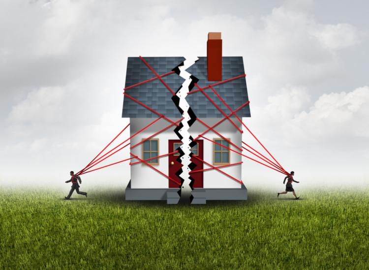 Baufinanzierung: Was passiert im Scheidungsfall?