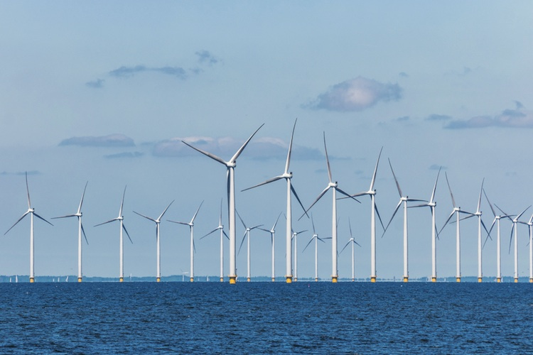 Windkraft offshore