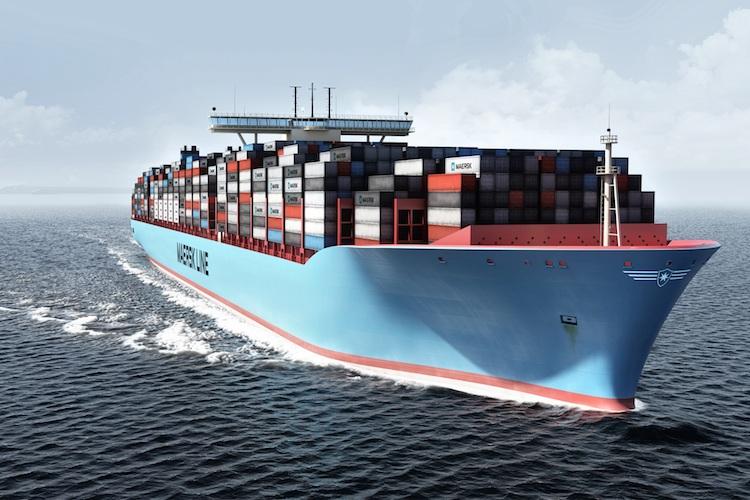 Maersk-line-3 in Møller-Maersk schreibt rote Zahlen