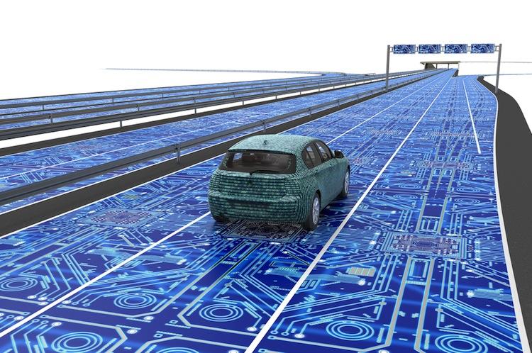 Shutterstock 548352796 in Deutsche Hersteller bei Patenten zum autonomen Fahren vorn