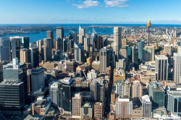 Sydney-buero-buro-skyscraper-index-shutterstock 372127591 in Die Top Zehn teuersten Städte für Büromieten
