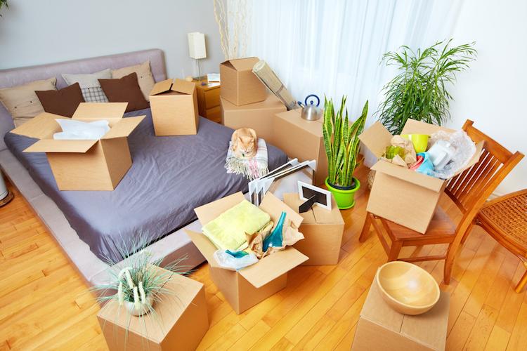 Umzug-wohnung-haus-kisten-boxen-umziehen-verlassen-einziehen-ausziehen-shutterstock 400726075 in Was Erbbaunehmer beachten sollten