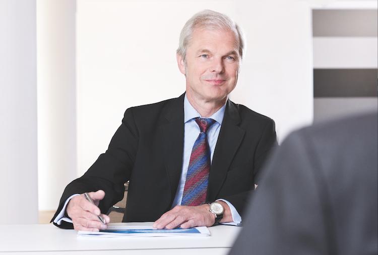 Hannover-Rück-Vorstandschef Ulrich Wallin