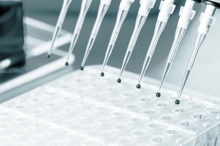Biotechnologie-pipette-shutterstock 443121763 in Biotechnologie: Bakterien produzieren Rendite