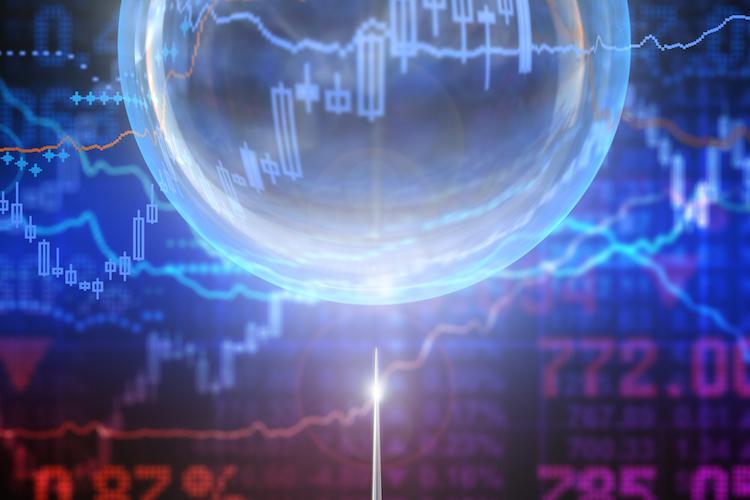 Blase-finanz-boerse-nadel-platzen-shutterstock 311159867 in Finanzbranche befürchtet Blasenbildung an Märkten