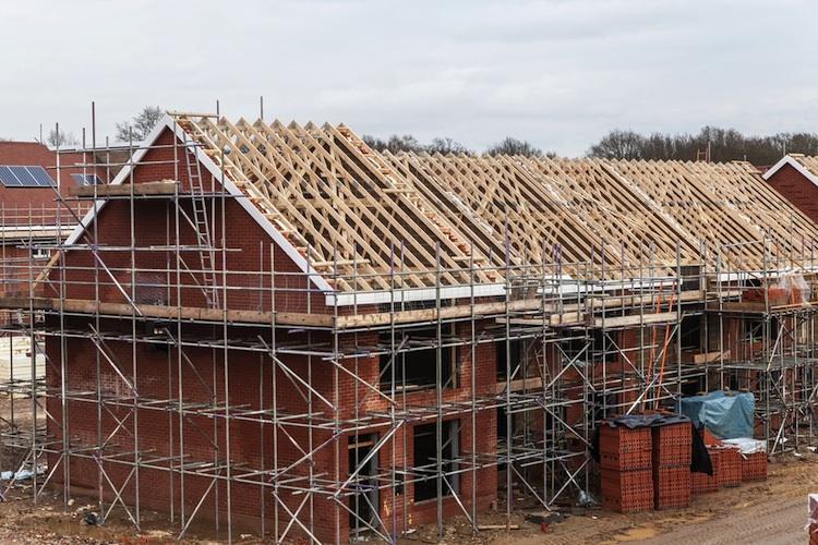 Haus-bau-wohnungsbau-shutt 172476434 in Baugewerbe: Immobilienpreise sind keine Baupreise