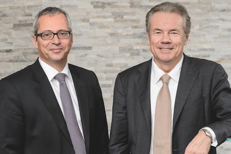 RWB-Vorstände Norman Lemke (links) und Horst Güdel