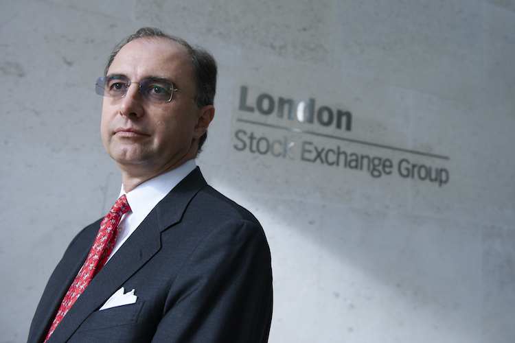 Xavier Rolet, Chief Executive of London Stock Exchange Group | Quelle picture alliance