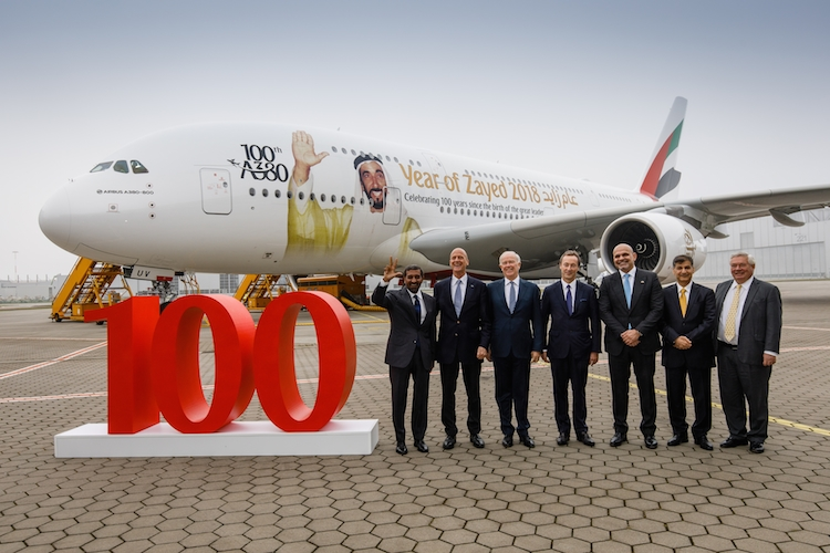 20171103-p2113-100th-A380-Emirates-BL RAW-1322 in Emirates bekennt sich zum Airbus A380