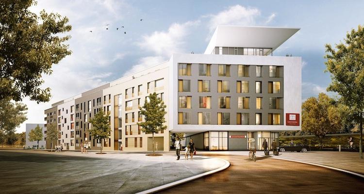 Au Enansicht-Hotel-und-Poeta Klein-Kopie in Hannover Leasing kauft Hotel für späteren Publikums-AIF