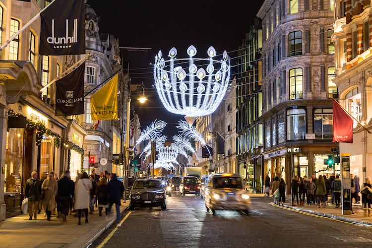 New-Bond-Street in Immobilien: Top Ten der teuersten Einkaufsstraßen weltweit