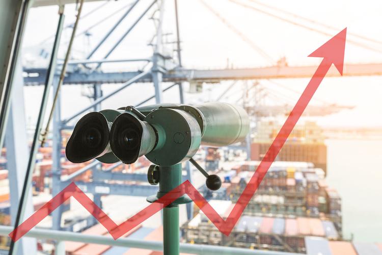 Handel-export-import-wirtschaft-container-wachstum-anstieg-plus-konjunktur-shutterstock 606864677 in Deutschland wächst weiter