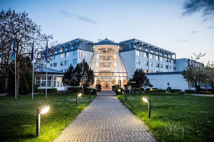 Das NH-Hotel in Weinheim verfügt über 187 Zimmer.