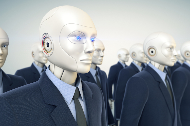 Automatisierung-roboter-buero-technologie-KI-AI-shutterstock 234722641 in Factor Investing: Wie Algorithmen helfen können
