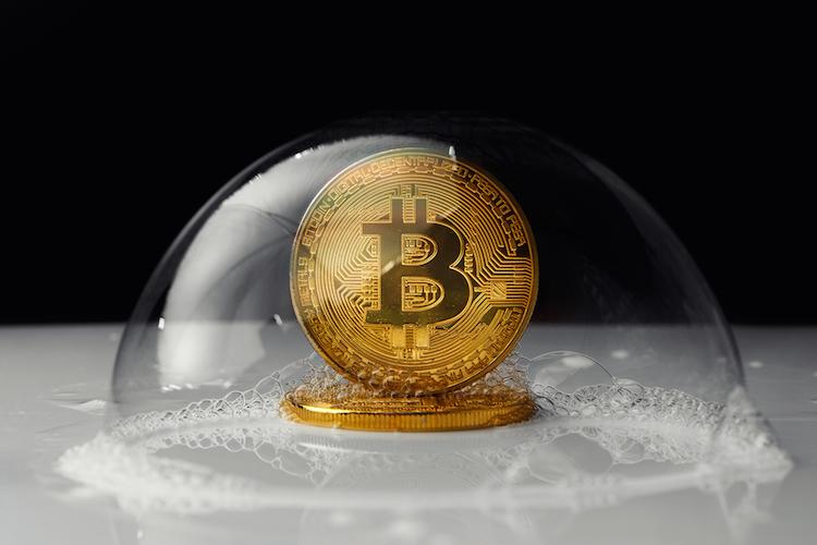 Bitcon-bubble-blase-shutterstock 723329638 in Bitcoin auf Talfahrt