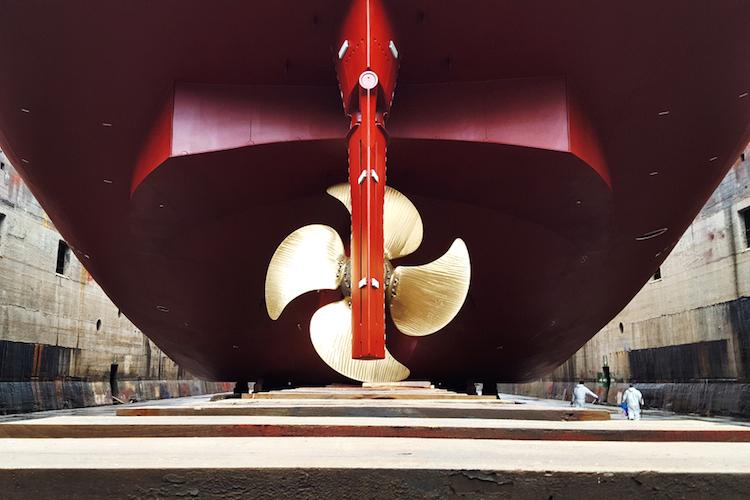 Shutterstock 420327604 in Stimmung in der maritimen Wirtschaft hellt sich auf