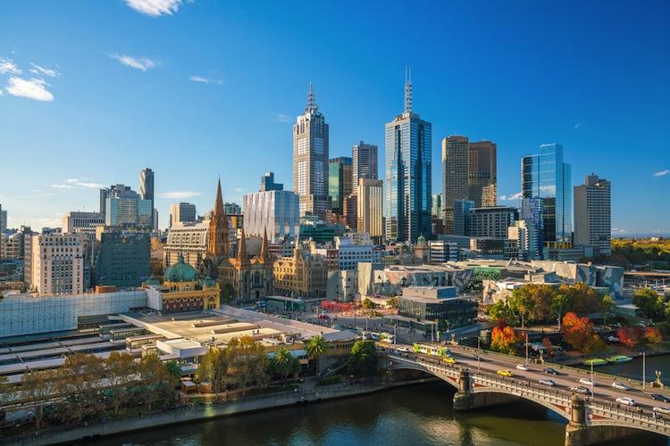 Der Hauptsitz der Australia and New Zealand Banking Group befindet sich in Melbourne.