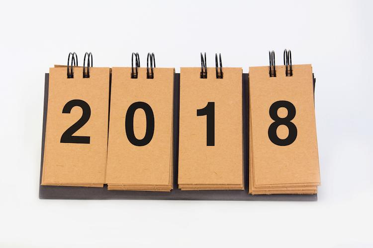 2018-kalender-neues-jahr-shutterstock 729134956 in Sieben Anlagetrends in 2018