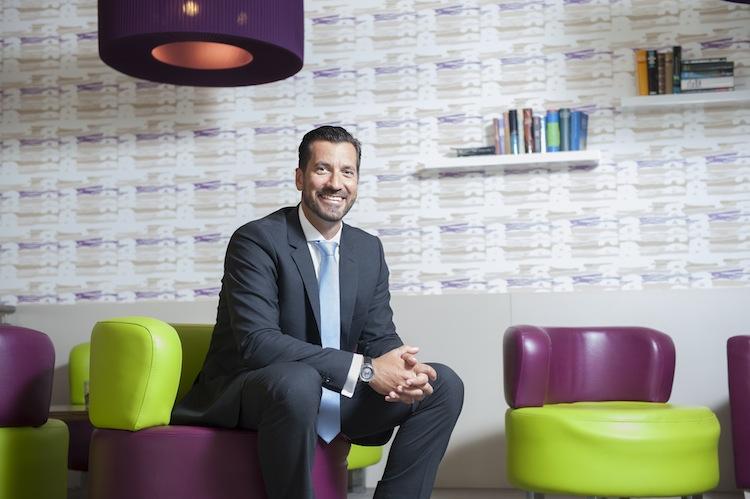 Christoph Dittrich, Geschäftsführer der Firma Softfair, in Hamburg