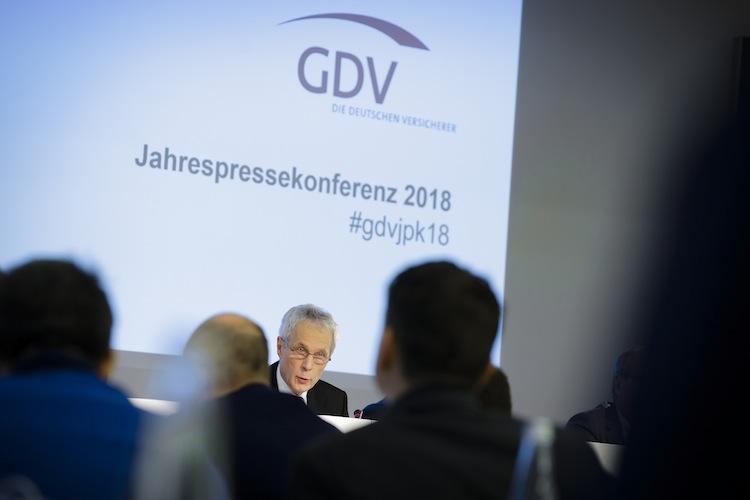 GDV-Jahrespressekonferenz-2018-Pra Sident-Weiler in Lebensversicherungen laut GDV nicht in Gefahr