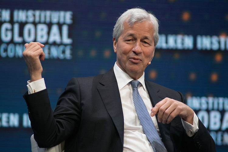 May 1, 2017 - Beverly Hills, California, U.S - Jamie Dimon, Chairman and CEO, JPMorgan Chase & Co. during the 2017 Milken Institute Global Conference held Monday May 1, 2017 at the Beverly Hilton Hotel in Beverly Hills, California |picture alliance/ZUMA Press