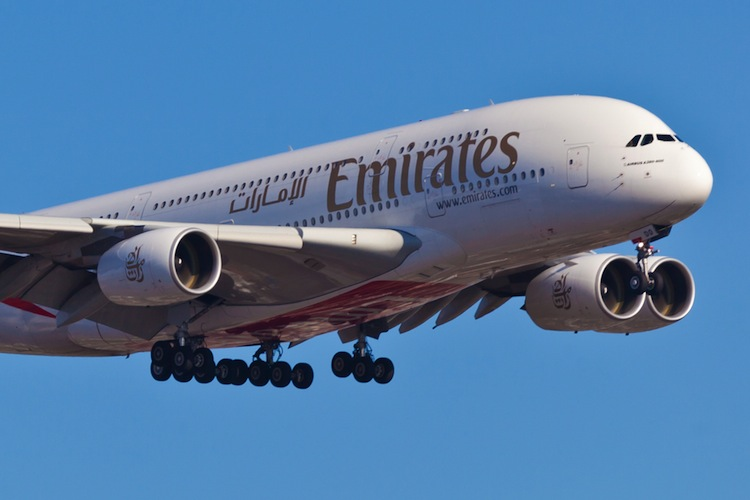 in Emirates hält Airbus A380 am Leben