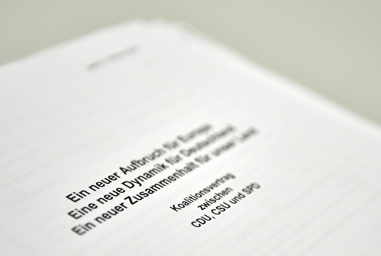 99456657 in Verheerend: BdV nimmt Koalitionsvertrag auseinander