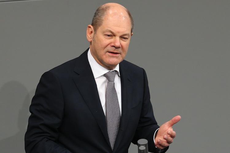 Olaf Scholz Foto Wolfgang Kumm Dpa PA 100932147 in Bundesfinanzminister Scholz: Keine Steuererhöhung bei Neuregelung der Grundsteuer