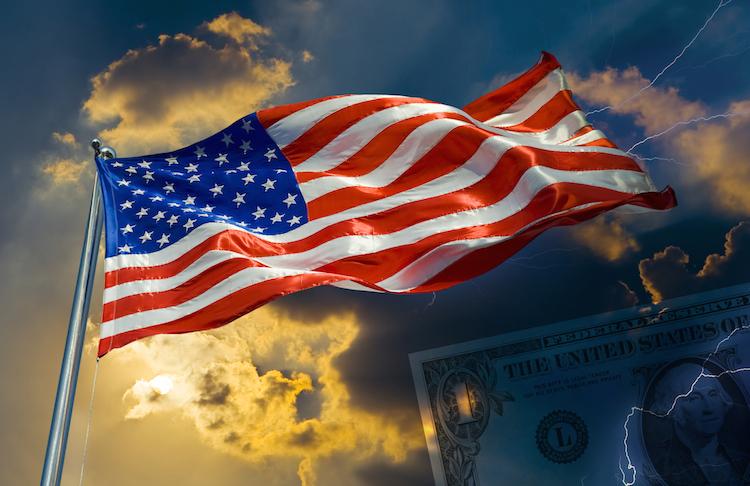 US-flag in Rauere Aktienmärkte erwartet