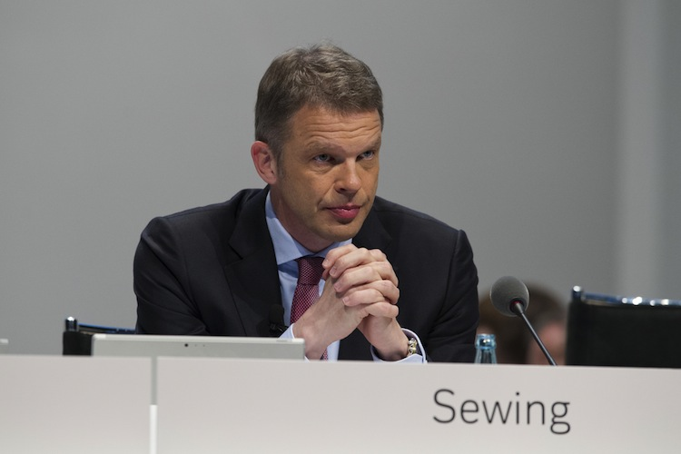 EZB-Präsident und Deutsche-Bank-Chef fordern Kapitalmarktunion