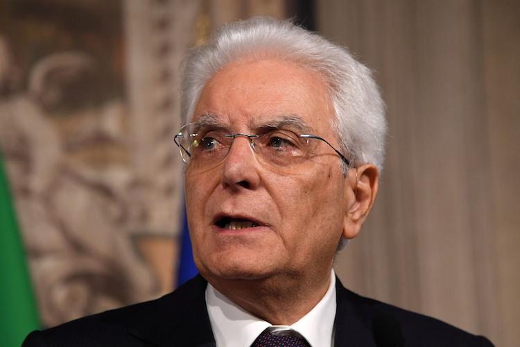 Mattarella-italien-104529792 in Italien: Gescheiterte Koalition lässt Anleihen und Aktien steigen