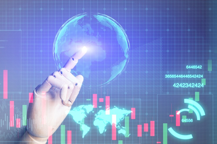 Shutterstock 1045379314 in Roboter-Geldanlage im Internet breitet sich langsam aus