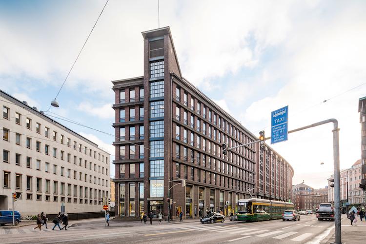 Corpus Sireo erwirbt Geschäftshaus in Helsinki für Swiss Life Asset Managers