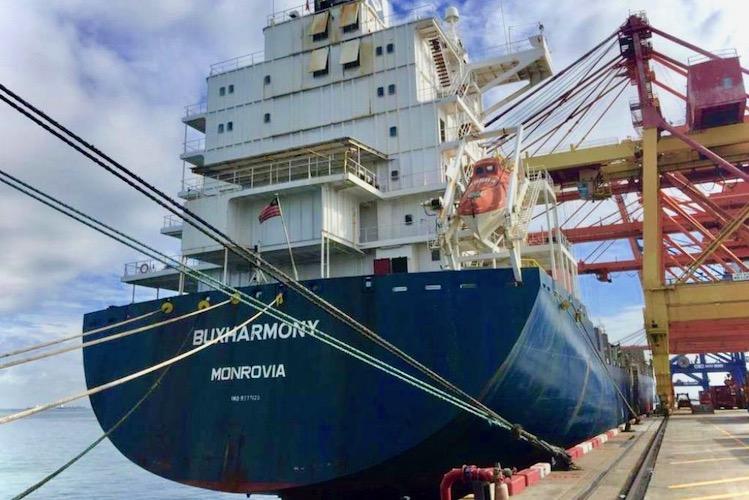 Buxharmony Vesselbid in VesselBid schließt erste Schiffs-Versteigerung ab