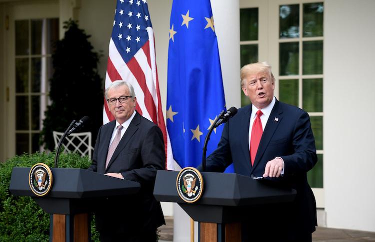 106868511 in USA und EU wollen Handelsstandards angleichen und die WTO reformieren