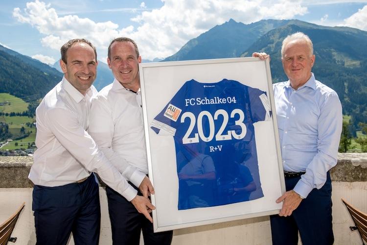 in R+V Versicherung: Vorzeitige Verlängerung mit Schalke 04