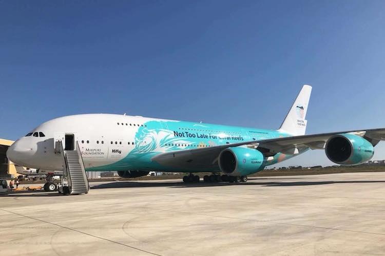 Joseph Bezzina Aviation Cosmetics Malta in Erste Anschlussvermietung eines Airbus A380