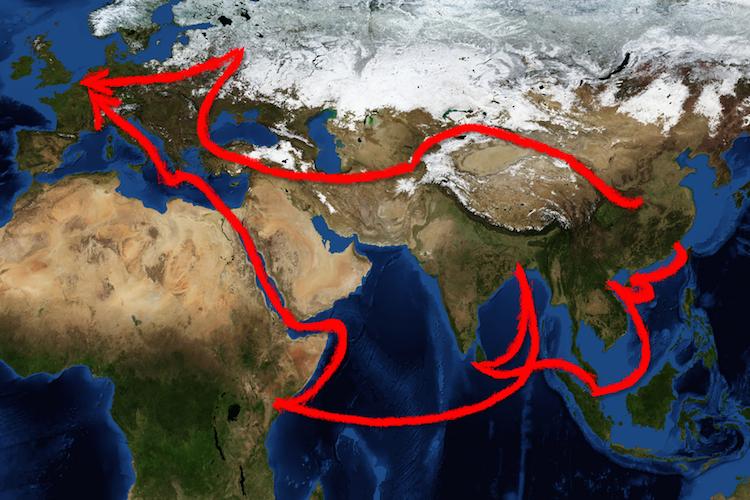 Silkroad-seidenstra E-one-belt-one-road-china-infrastruktur-shutterstock 689684080 in Milliardenkooperation für neue Seidenstraße